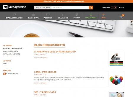 E' arrivato il Blog di Neroristretto!