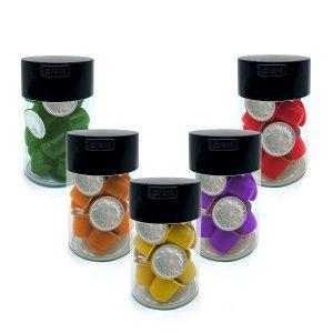 Kit 5 contenitori salva-freschezza per capsule Nespresso®*