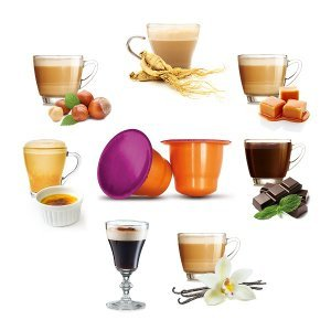 Kit assaggio 70 Capsule Compatibili Nespresso®*
