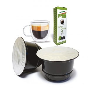 80 Capsule Compatibili Caffitaly®* Gran Crema Espresso Bar
