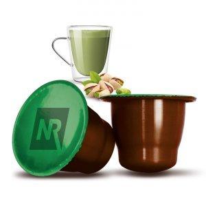 50 Capsule Compatibili Nespresso®* Caffé al Pistacchio