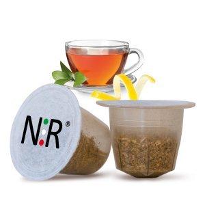 50 Capsule Compatibili Nespresso®* Tè Nero al Limone
