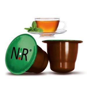50 Capsule Compatibili Nespresso®* Tè alla Menta